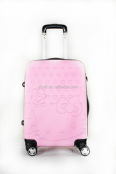 Cute lovely KITY cat cartoon ABS luggage/KITY luggage/suitcase