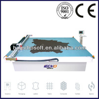 HANGZHOU IECHO Vibrating blade leather cutting machine for footwear,bags and garment