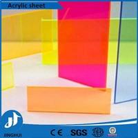 Pmma fluorescent color acrylic sheet