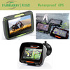 Newest universal 4.3 inch car gps with bluetooth built in 800 MHz CPU 6.0 wince system and multiple languages