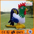 ali expressar comercial galinha inflável para publicidade