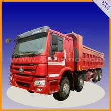 30 Ton HOWO 8X4 DUMP TRUCK LHD / RHD