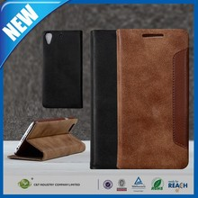 C&T Customized Leather Folio Stand Protective Wallet Case Cover For HTC Desire 626