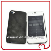 2013 Hot selling Carbon fiber Hard Cover Case For iPhone 5/4S/iPad Mini