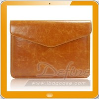 Soft Leather Laptop Sleeve Notebook Bag Pu Compuer Cover Case