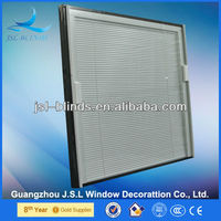 good heat protection J.S.L blinds in double glass