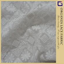 vintage vestido bordado do laço de tule tecido
