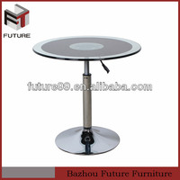 adjustable height glass coffee table mechanism