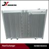 Customized made aluminum bar plate air compressor heat exchangers