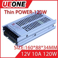 miniatur switching power supply 12v 10a 120w