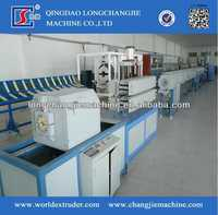 Plastic pipe extruder machine production line for list of plastic products