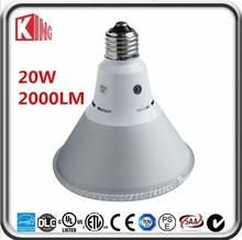 factory direct sales e27 warm/pure/cool white led 20w par38
