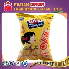 best selling 45g crisp curry flavouring puffed snacks