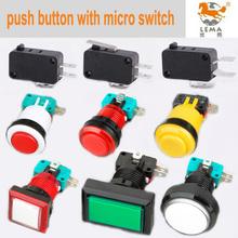 micro iluminada pulsador