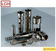High performance aluminum drilling parts cnc machining service from China