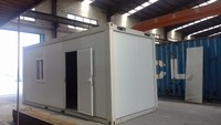 XGZ- 20ft Flat Pack Container House for Living Office Toilet Bathroom Shower