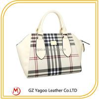 guangzhou handbag market check pattem bags hot sell