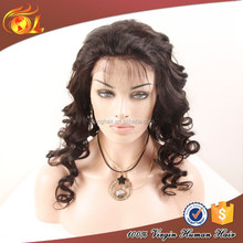 2015 New Design Thin Skin Top india hair wig price lace front box braid u part wig