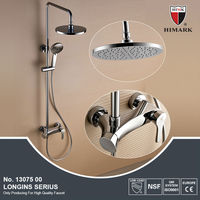 European surface mounted shower faucet
