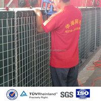 Hesco barrier for sale galvanized steel mesh Military Hesco Blast Barrier
