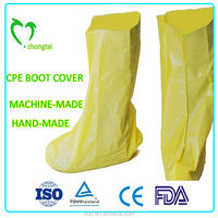 disposable nonwoven fashion decorated Boot Cover made of polypropylene material and fabric with different thicknesses and sizes