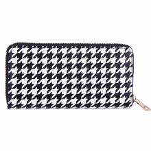 2015 FASHION LADIES BLACK SERIES WINTER COLOR ZIPAROUND PURSE
