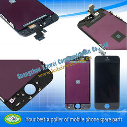 Hot Sale 5G LCD DISPLAY TOUCH DIGITIZER FOR IPHONE 5 Replacement