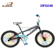 the latest 20 bmx bicycle with special frame and alloy wheels for bike with china supplier