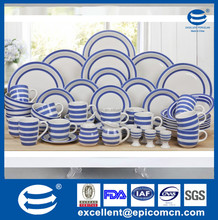 Europe style ceramic dinner set, direct by china porcelain