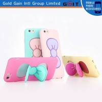 Cute Bowknot Holder Case For IPhone 5 Stand Cover