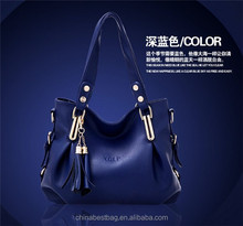 2015 European Fashion Genuine Leather Lady Bag Hand Bag