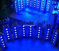 wireless dmx512 5x8w RGBW 4in1 led wall washer -100-240V AC