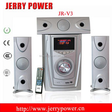 Professional 3.1 active stage speaker Sound system PA speaker with USB/SD/FM