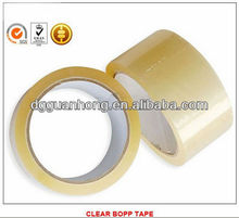 Packing sealing adhesive tape with thickness of 40mic, 45mic, 48mic, 50mic, 53mic from guanhong manufacturer