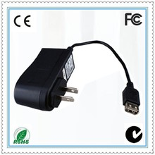 UK USA plug CE ROHS 12v 500ma 12v 2a 9v 1.5a switching dve adapter
