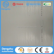 Economy and practicality 304.NO.4 stainless steel sheet plate ISO Certificate