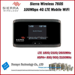 Original Unlock LTE FDD 100Mbps Sierra Wireless Aircard 760S Portable 4G LTE Pocket WiFi Router