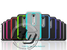 Manufacturer Wholesale shockproof heavy duty Football textured case for Motorola Moto G3 hard case mobile phone case cover