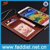 hot selling quality crazy horse leather case for samsung galaxy note 3