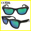 2015 hot handmade pixel sunglasses with custom logo and UV400 lens