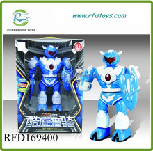 2015 New product b/o rotating robot kid toy for sale toy robot