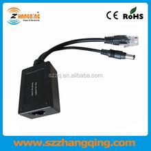 Mini POE splitter 12V 10W, PoE splitter adapter 12V 10W for Non-PoE IP camera Access Point
