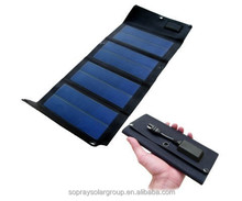 5w folding solar mobile charger bag