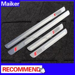 Door sills plate for audi a4 car accessories door sills from Maiker Auto