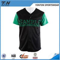 sublimated custom baseball jersey