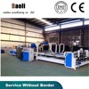 high speed automatic corrugated carton strapping machine stitcher machine