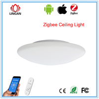 Superior Smart ceiling lamp ZigBee/SmartRoom phone control waterproof LED ceiling light