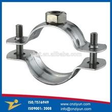 Oem de metal personalizado polo abrazadera/abrazadera de pipa/abrazadera del tubo