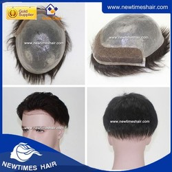 skin base toupee with lace front