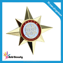 Metal pin soft enamel filling best products for import, badge, new products